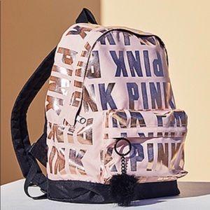 Handbags - Pink mini backpack brand new